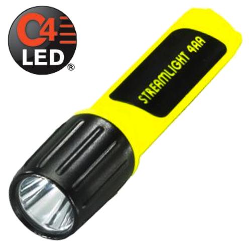 Streamlight 62844 ProPolymer 4AA Luxeon LED Yellow Body ...