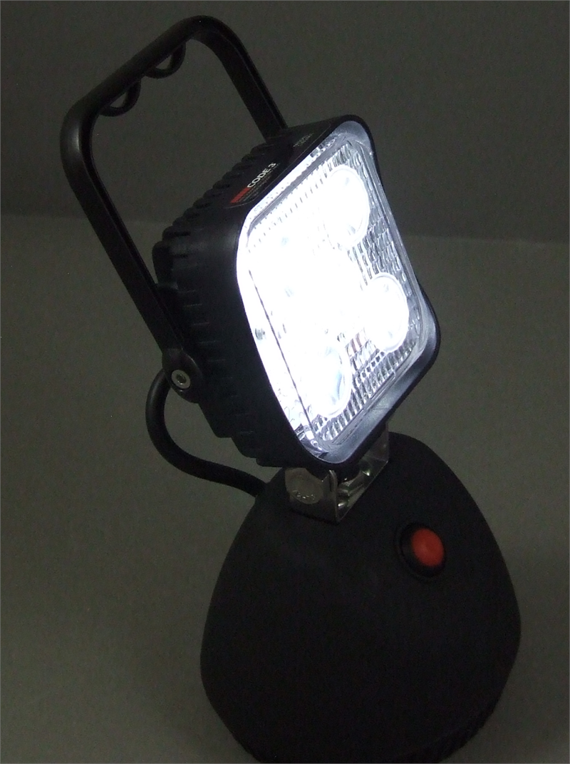 Code 3 Portable Dual Color Multi Function Work Light
