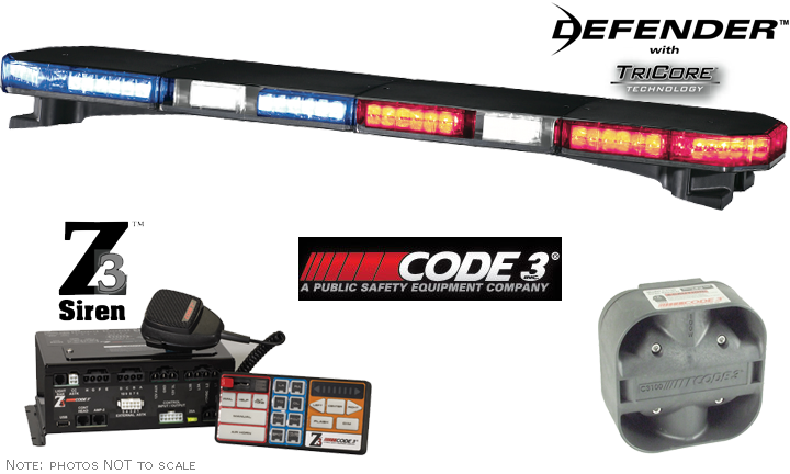 code 3 defender lightbar wiring diagram code image code 3 bundle 47 defender df47a7 lightbar z3 siren c3100 speaker