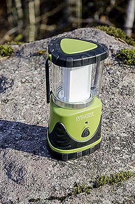 AERVOE Outlander LED Light Guide Lantern Red Body