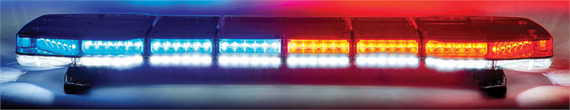 Pursuit 47 dual level led lightbar by code 3 msrp list price 350772 aloadofball Image collections