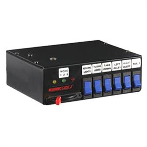Code-3 Rocker Max Pak Switchbox